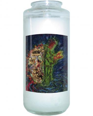 Devotional Candle - In The Wilderness by B. Gilroy
