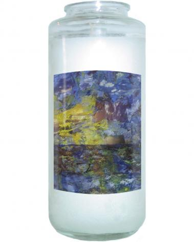 Devotional Candle - Let There Be Light by B. Gilroy