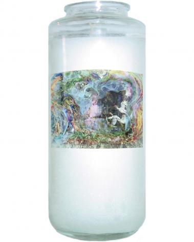 Devotional Candle - Morning Mist Lifting by B. Gilroy