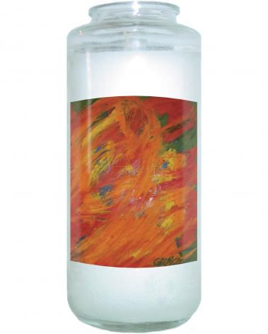 Devotional Candle - Resurrection by B. Gilroy
