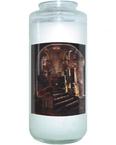 Devotional Candle - Split Staircase by B. Gilroy