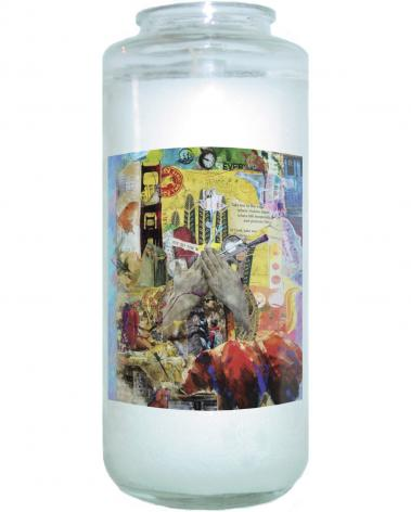 Devotional Candle - Take Me to the Edge by B. Gilroy