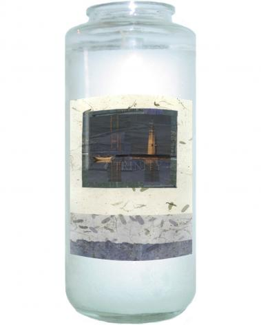 Devotional Candle - Water Reflections by B. Gilroy