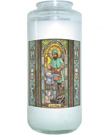 Devotional Candle - St. Eligius by B. Nippert