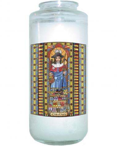 Devotional Candle - Holy Child of Atocha by B. Nippert