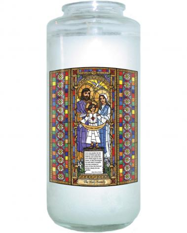 Devotional Candle - Holy Family by B. Nippert