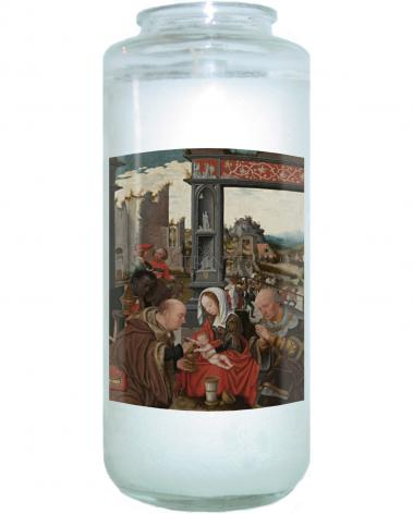 Devotional Candle - Adoration of the Magi by Museum Art