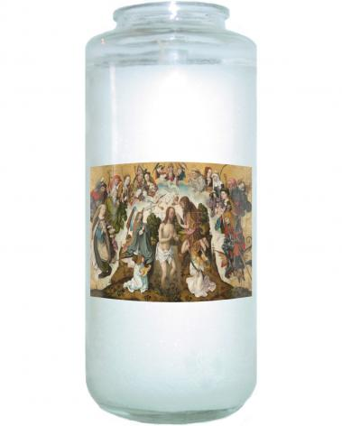 Devotional Candle - Baptism of Christ by Museum Art