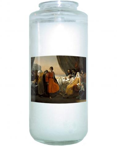 Devotional Candle - Death of St. Louis, King of France by Museum Art
