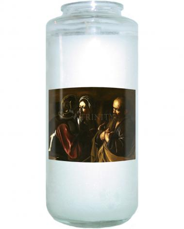 Devotional Candle - Denial of St. Peter by Museum Art