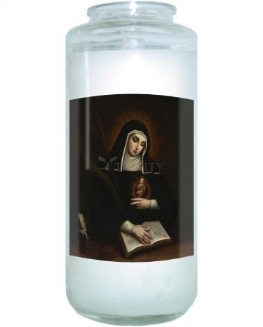 Devotional Candle - St. Gertrude by Museum Art