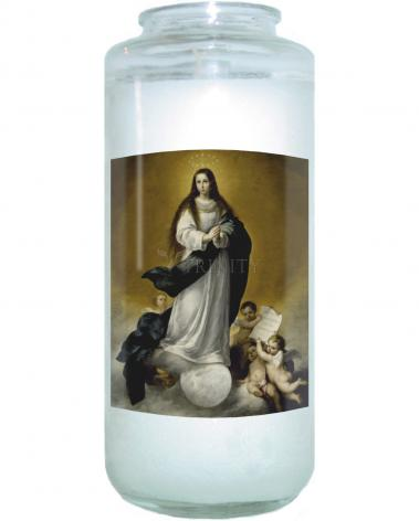 Devotional Candle - Immaculate Conception by Museum Art