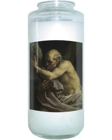 Devotional Candle - St. Andrew by Museum Art
