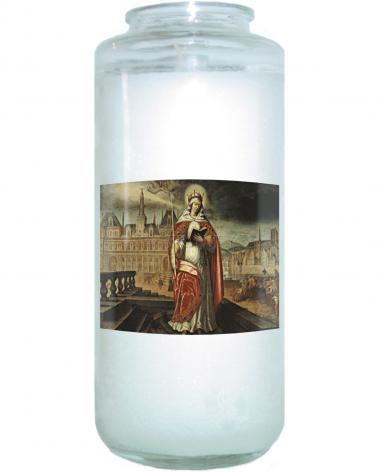 Devotional Candle - St. Genevieve by Museum Art