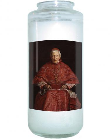 Devotional Candle - St. John Henry Newman by Museum Art