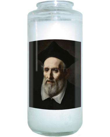 Devotional Candle - St. Philip Neri by Museum Art