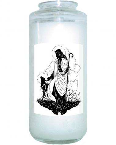 Devotional Candle - Good Shepherd by D. Paulos