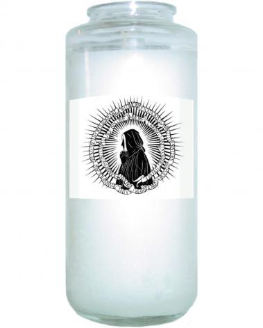 Devotional Candle - St. Jeanne Jugan by D. Paulos