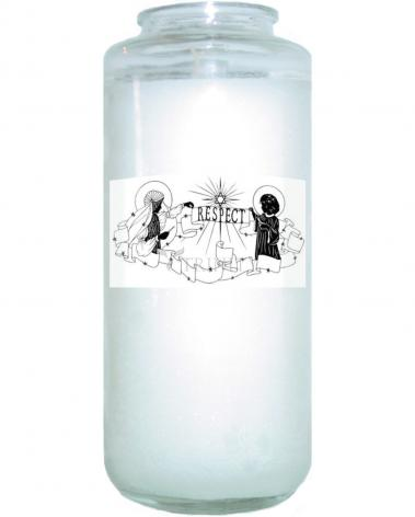 Devotional Candle - Respect by D. Paulos