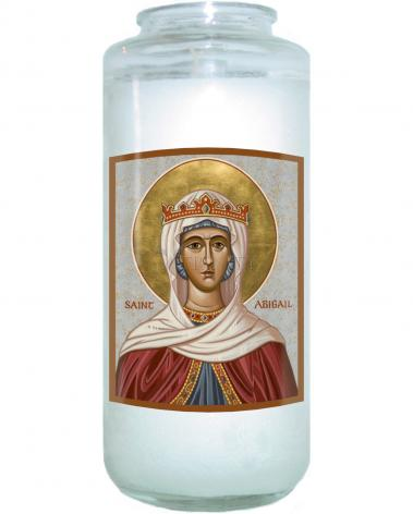 Devotional Candle - St. Abigail by J. Cole