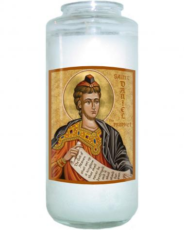 Devotional Candle - St. Daniel the Prophet by J. Cole