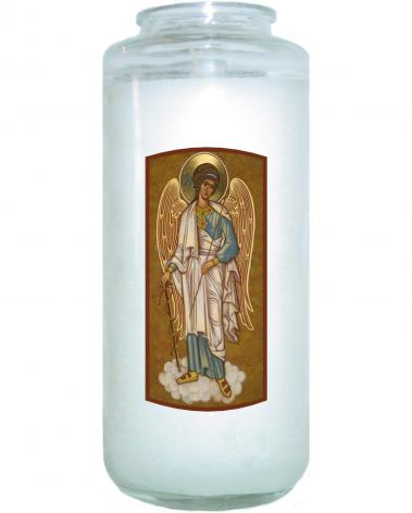 Devotional Candle - Guardian Angel by J. Cole