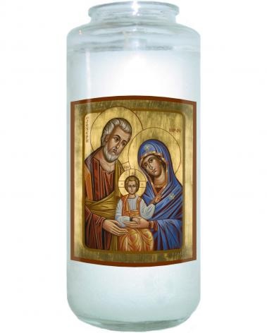 Devotional Candle - Holy Family by J. Cole