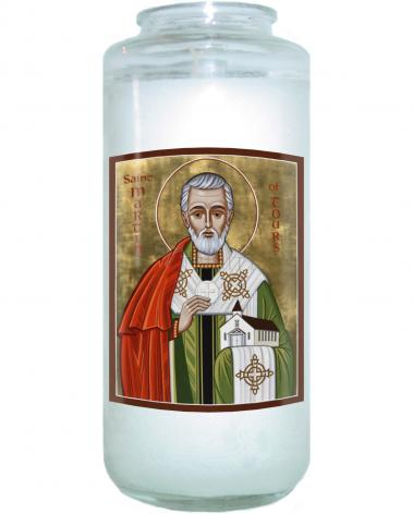 Devotional Candle - St. Martin of Tours by J. Cole