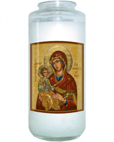 Devotional Candle - Mary, Mother of God by J. Cole
