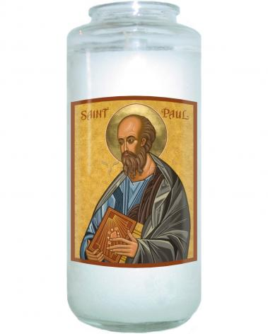 Devotional Candle - St. Paul by J. Cole