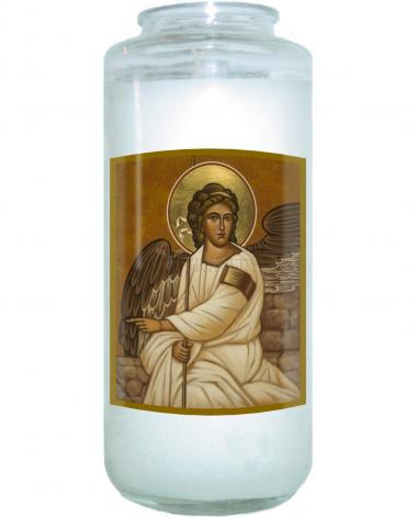 Devotional Candle - Resurrection Angel by J. Cole