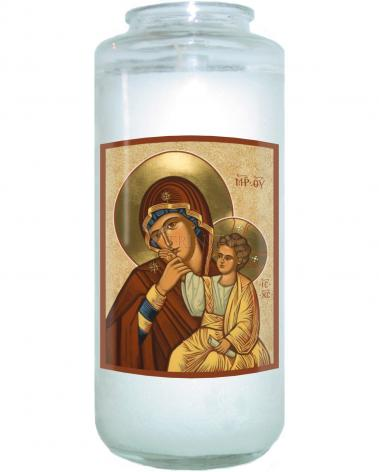 Devotional Candle - Virgin of Consolation by J. Cole