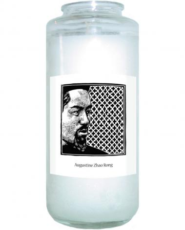 Devotional Candle - St. Augustine Zhao Rong and 119 Companions by J. Lonneman