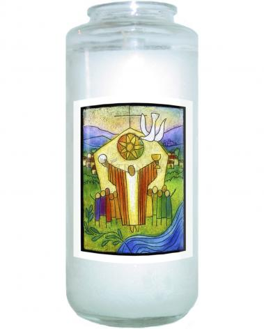 Devotional Candle - The Body of Christ by J. Lonneman
