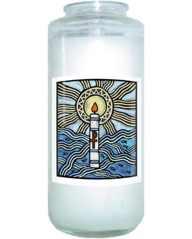 Devotional Candle - Baptism by J. Lonneman