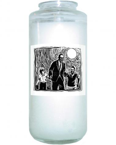 Devotional Candle - Martin Luther King's Dream by J. Lonneman