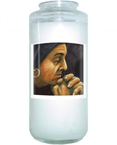 Devotional Candle - St. Monica by J. Lonneman