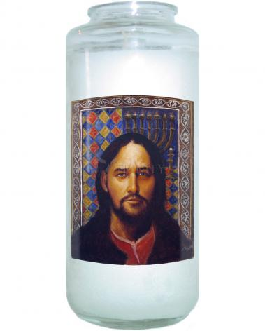 Devotional Candle - St. Matthew by L. Glanzman