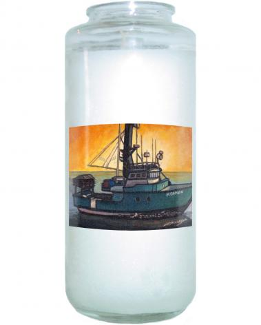 Devotional Candle - Daylight Burnin' by L. Williams