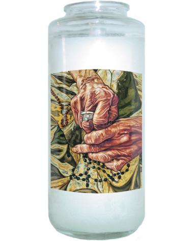 Devotional Candle - Gold Tested in Fire by L. Williams
