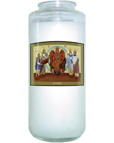 Devotional Candle - Holy Wisdom by L. Williams