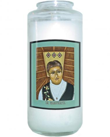 Devotional Candle - Sr. Marguerite Bartz by L. Williams