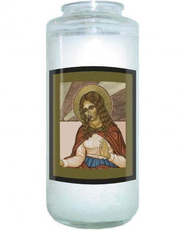 Devotional Candle - St. Mary Magdalene by L. Williams