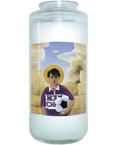 Devotional Candle - Holy Child by M. McGrath