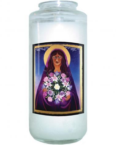 Devotional Candle - St. Mary Magdalene by M. McGrath