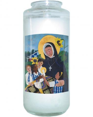 Devotional Candle - St. Rose Duchesne by M. McGrath