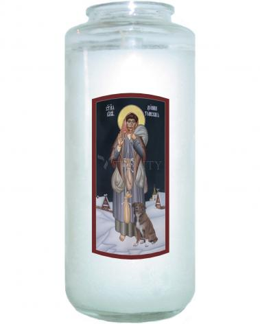 Devotional Candle - St. Domna of Tomsk by R. Lentz