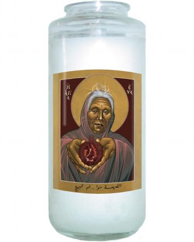 Devotional Candle - Eve, The Mother of All by R. Lentz