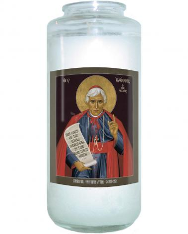 Devotional Candle - St. John Henry Newman by R. Lentz