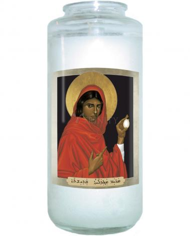 Devotional Candle - St. Mary Magdalene by R. Lentz